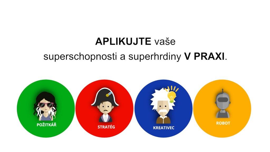 Produktivní Čtyřka a 4 superhrdinové