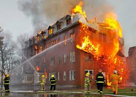 Požár v ČR